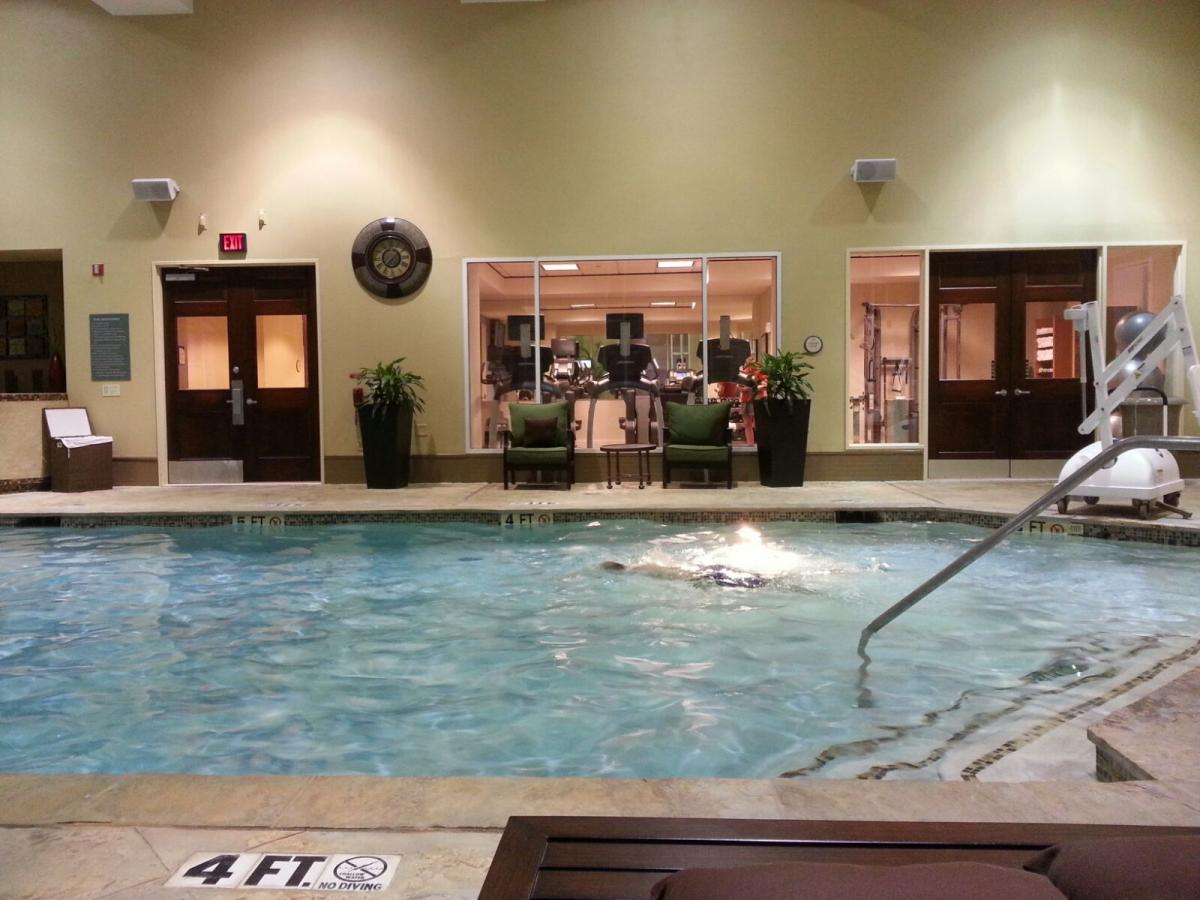 Rotary House pool and gym