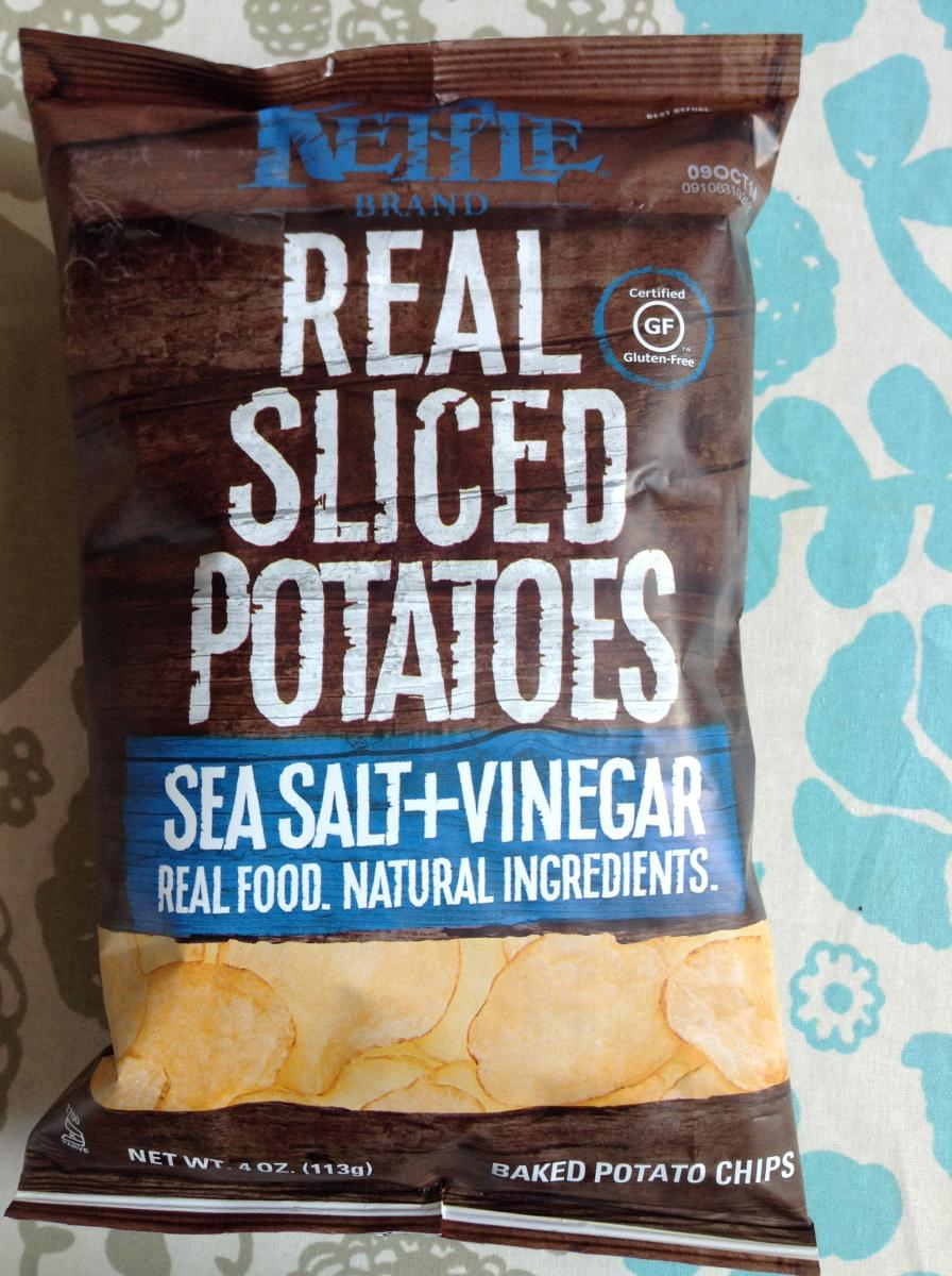 healthy snack kettle baked real sliced potato chips low omega 6