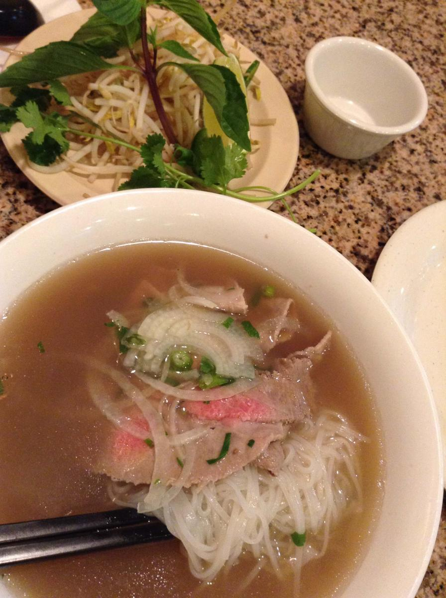 MD Anderson Houston Pho Binh Restaurant