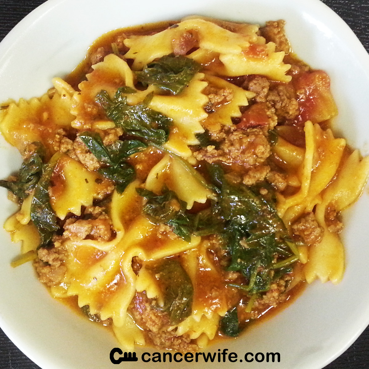 One pot pressure cooker instant pot kale beef pasta recipe