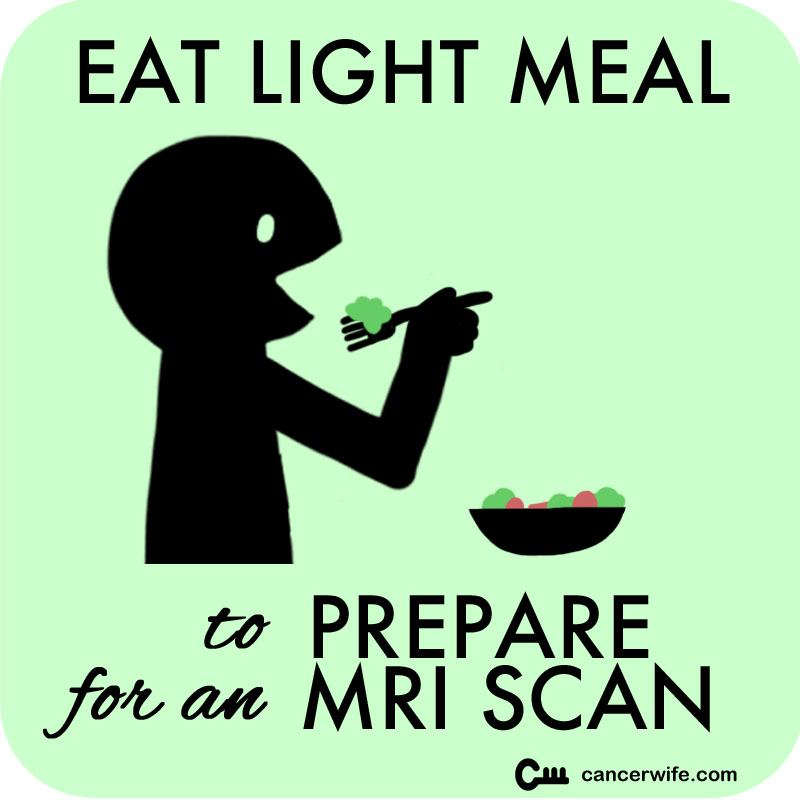 5 Tips to Prepare for an MRI Scan, Eat a light meal before