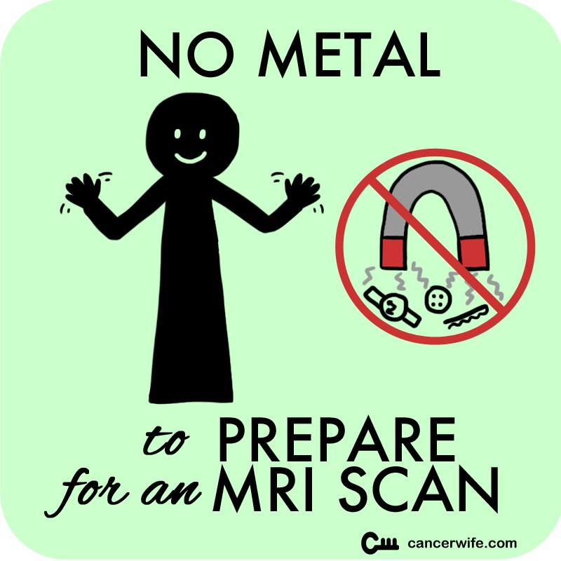 5 Tips to Prepare for an MRI Scan, wear no metal