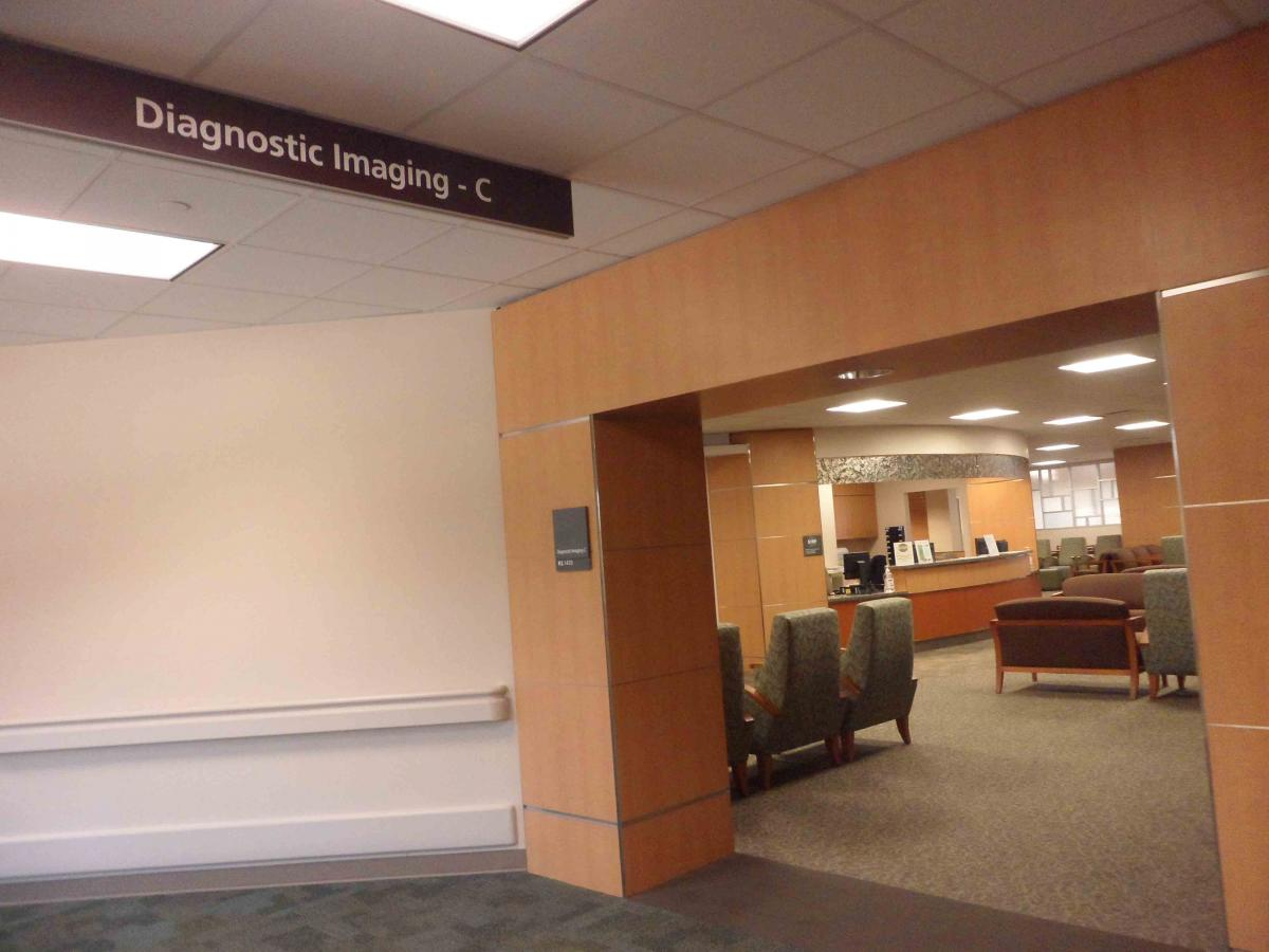 MD Anderson Main Building CT Waiting room