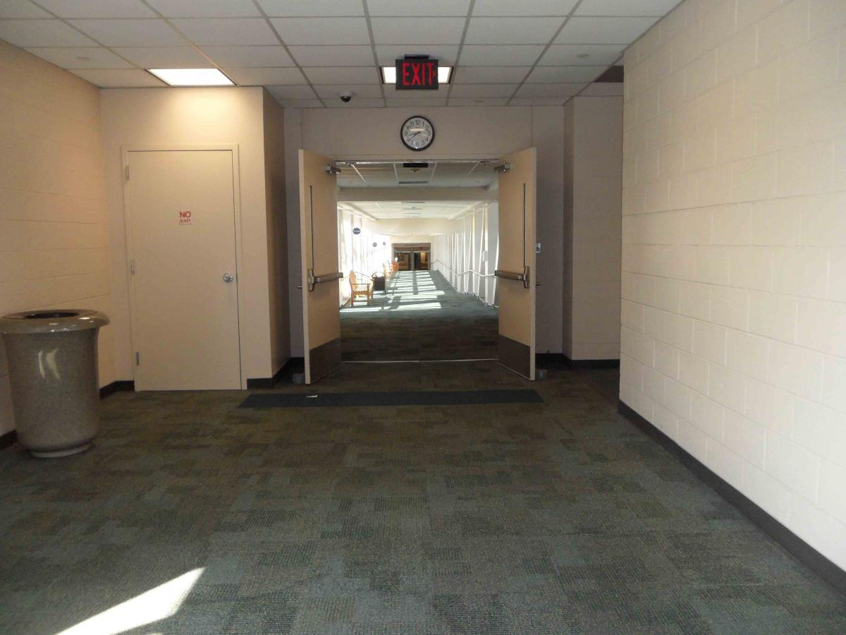 MD Anderson Rotary House Hotel to Main Building walkway skybridge
