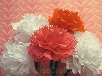 handmade tissue paper flowers tutorial for cancer patients